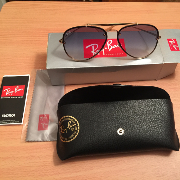 29ba9dbf57ac3 Ray Ban Blaze Aviator Sunglasses RB3584N 61mm. M 5bc0099f12cd4a66db67fe82